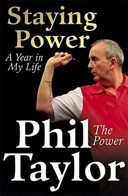 Staying Power: A Year In My Life by Taylor, Phil Book The Cheap Fast Free Post