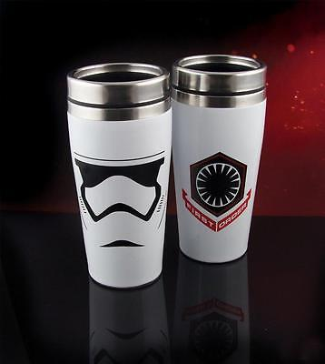 NEW Star Wars Episode VII The Force Awakens Stormtrooper Travel Mug OFFICIAL NEW