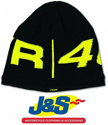 Valentino Rossi Vr46 Beanie Hat Official Winter Moto Gp Motorcycle One Size J&s