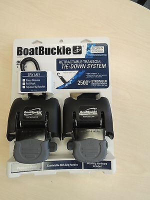 Boat Buckle G2 retractable tie-down system boat trailer transom 5802145