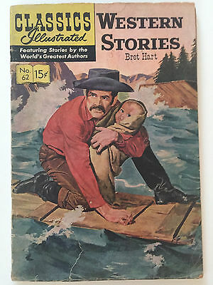 Classics Illustrated 62 Western Stories Hrn 137 (4Th Ed - Pc) Gd+ 2.5