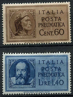 Italy 1945 SG#PE679-80 Pneumatic Post MNH Set #C110