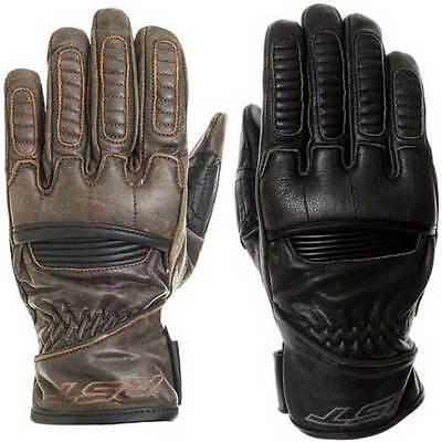 RST Roadster Retro Cruiser Leather Bike Motorcycle Gloves | All Colours & Sizes