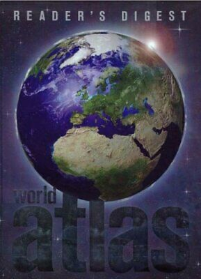 Reader's Digest World Atlas by Reader's Digest Hardback Book The Cheap Fast Free