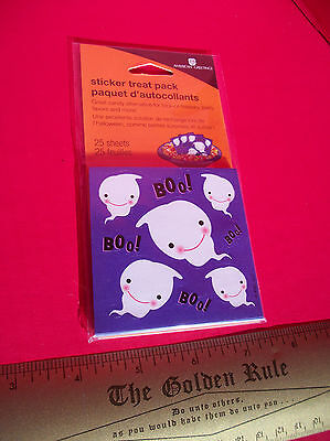 Craft Treat Pack Stickers American Greetings Boo Ghost Halloween Party Favors