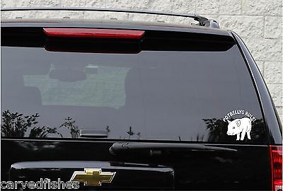 Potbelly pig decal