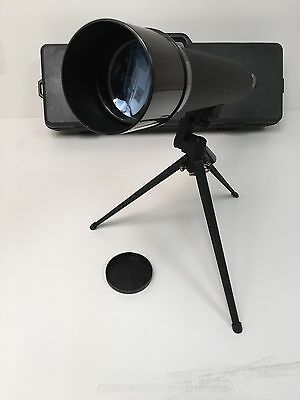 Bushnell Zoom 20-60 Telescope Sportview 78-2061 60mm Hard Case Tripod Spottily
