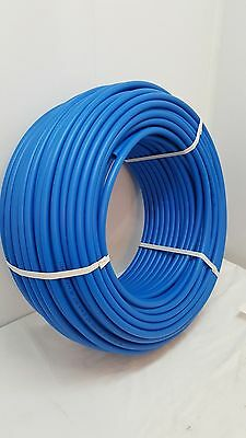 "1000' of 1"" Non Oxygen Barrier Blue PEX tubing for heating and plumbing"