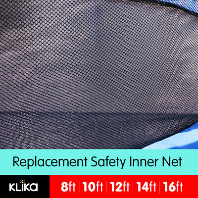 REPLACEMENT TRAMPOLINE SAFETY INNER NET OUTDOOR 8ft 10ft 12ft 14ft 16ft