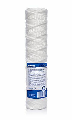 "100 micron sediment filter string-wound 10"",water filter,Reverse osmosis,RO"