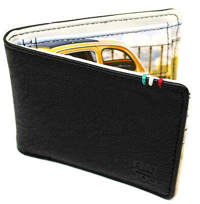 Classic Fiat 500 Mens Wallet with print of 500 inside New Genuine 50907929