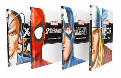 Marvel Hero Origins Story Collection, MARVEL Book The Cheap Fast Free Post