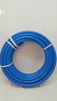 """100' 1"""" Oxygen Barrier Blue PEX tubing for heating and plumbing"""