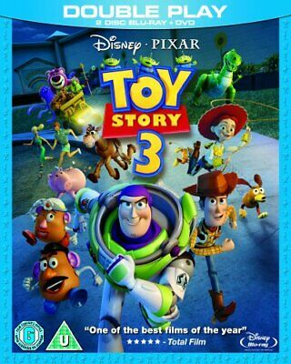 Toy Story 3 (2-Disc Blu-ray + DVD) - DVD  GOVG The Cheap Fast Free Post