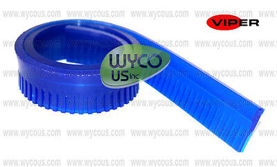 Va75019, Squeegee Blade, Blue, 29 Inch, Viper Ridged Shovelnose Wet Dry Vacuums