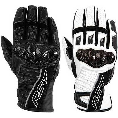 RST Stunt II 2 Ladies Street Leather Motorcycle Gloves | All Colours & Sizes