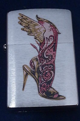 Lighter Zippo Leg with Wings and High Heels (EB396)