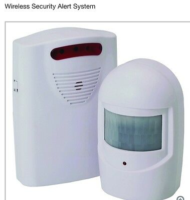 WIRELESS Motion Activated Door Alert ENTRY Alarm CHIME DRIVEWAY Store DETECTOR