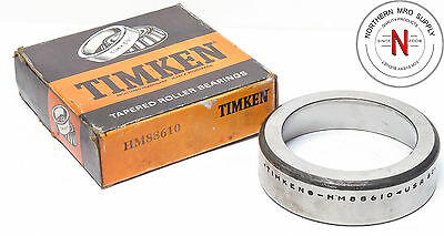 Timken HM88610 Tapered Roller Bearing Outer Race Cup, Steel