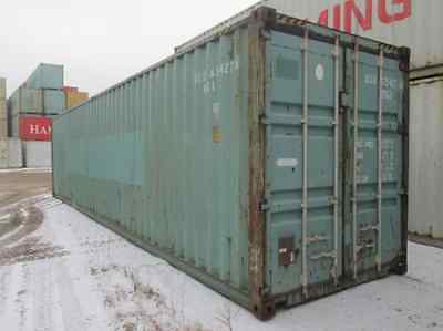 """40' - 9'6"""" tall Used Shipping / Storage Container (CONEX) - MINNEAPOLIS, MN"""
