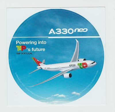Airbus Sticker A330neo Powering into TAP´s future , oversize