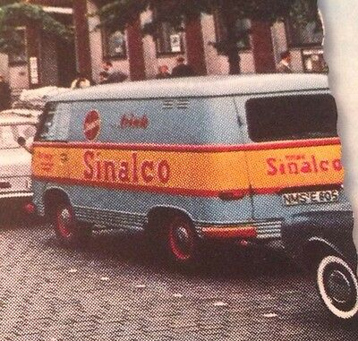 MA B1094 Neumünster Grossflecken Kuhberg Autos VW Bully Sinalco Werbung