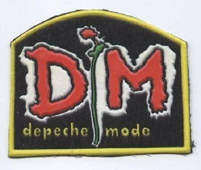Depeche Mode synthetic 3D patch early 80's RARE