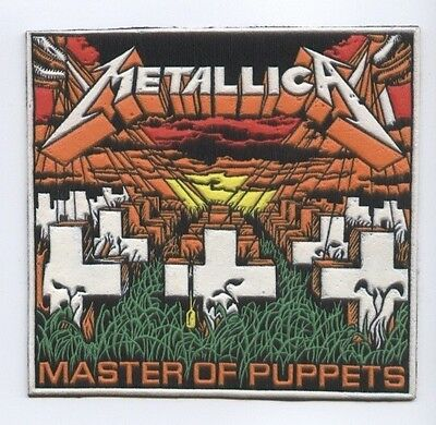 Metallica Master of Puppets synthetic 3D patch early 80's RARE