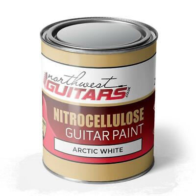 Arctic White Nitrocellulose Guitar Paint / Lacquer 250ml