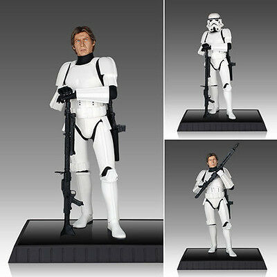 "NEW STAR WARS Han Solo Stormtrooper Armour Deluxe Statue 1:6 12"" Gentle Giant"