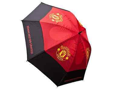 *official* Premier Licensing Manchester Utd Fc Twin Canopy Windproof Umbrella