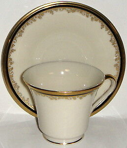 Lenox Eclipse  Cup & Saucer Set (Footed)