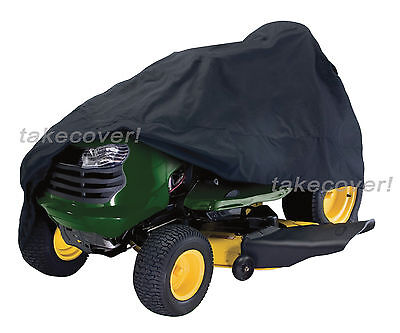 """Lawn Tractor Mower Cover Weather UV Protection fits up to 55"""" deck"""