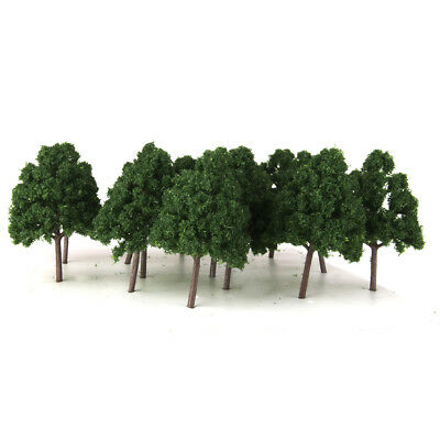 25x Model Trees Architectural Model Supplies N Scale Train Railroad Scenery