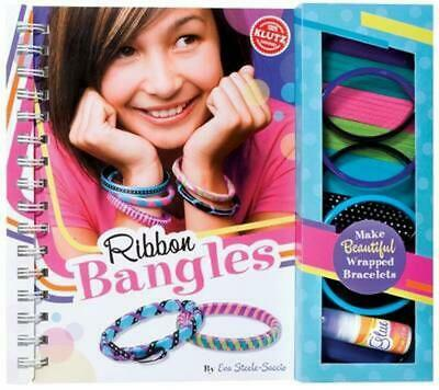 Ribbon Bangles by Eva Steele-Staccio Paperback Book Free Shipping!