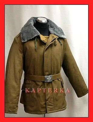 ☆ Authentic Soviet Russian Red Army Winter Uniform Jacket OXP, padded,very warm!