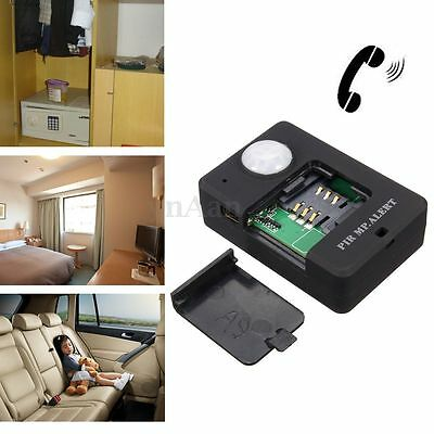 Wireless GSM PIR Infrared Sensor Motion Detector Security Alarm Remote Control