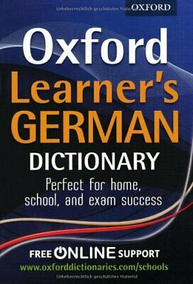 Oxford Learner's German Dictionary 2012 by Vennebush Book The Cheap Fast Free