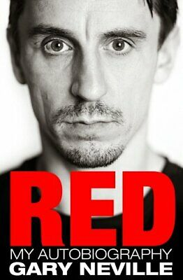 Red: My Autobiography, Neville, Gary Book The Cheap Fast Free Post