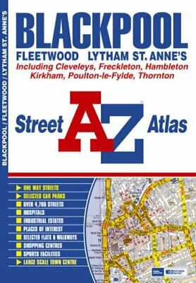 Blackpool Street Atlas (Visitors Map) by Geographers A-Z Map Company Paperback