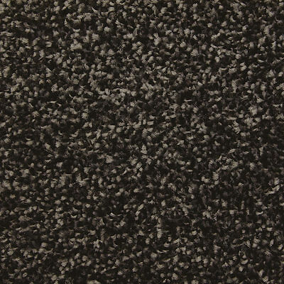 Balta-Quality Luxurious - Black 13mm Saxony Pile - Hessian Backed Carpet - NEW!