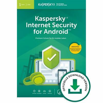 Kaspersky Internet Security Android 2020 1 Gerät 1 Jahr Handy Tablet Mobile