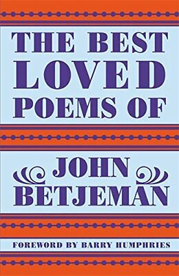 Best Loved Poems of John Betjeman by Betjeman, John Hardback Book The Cheap Fast