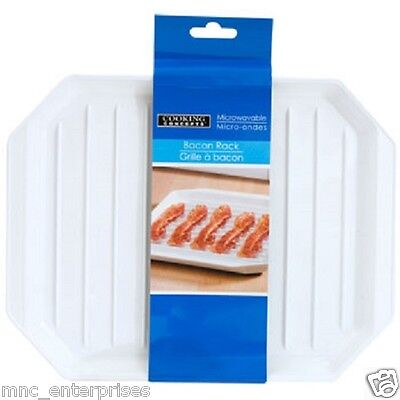 US Seller Microwave Bacon Rack Cooker