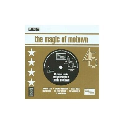 Various Artists - The Magic Of Motown - Various Artists CD NOVG The Cheap Fast