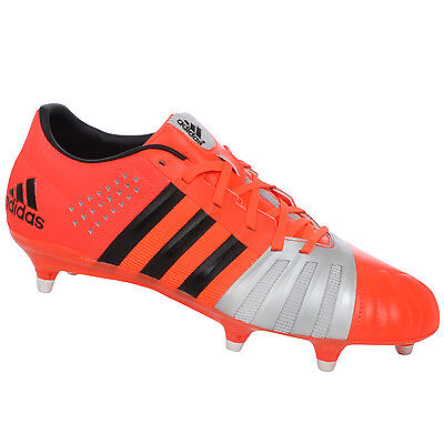 adidas Performance Mens FF80 Pro 2.0 XTRX SG Soft Ground Rugby Boots - Solar Red