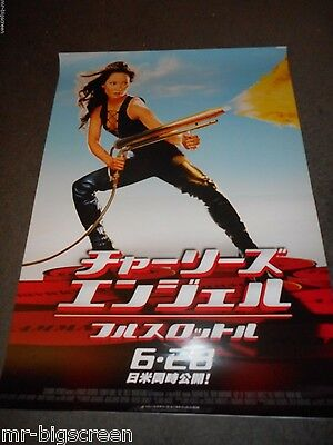 Lucy Liu - Charlie's Angels: Full Throttle- Original Ss Japanese Poster