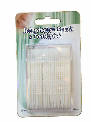 Interdental Brush & Toothpicks in a Plastic Box