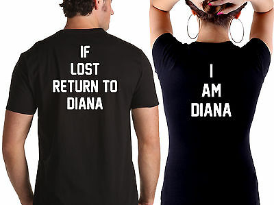 If Lost Personalised Couples T-Shirt - Romantic Valentine Wedding Cute His Hers