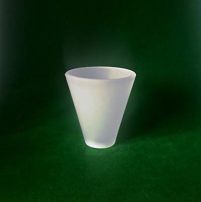 """Conical Frosted Glass Lampshade. Fits B&Q """"Reya""""  Lighting (cone replacement)"""
